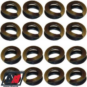 "Weber Carb 40 45 48 50 Dcoe Set Of 16 Thackery Washers For 5/16"" OD Studs 
